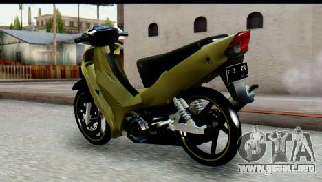 Yamaha F1ZR Stock para GTA San Andreas left
