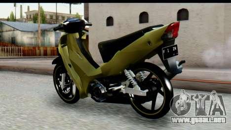Yamaha F1ZR Stock para GTA San Andreas left