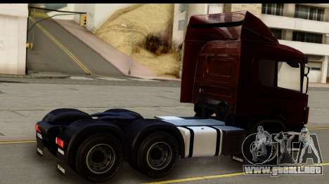 Scania P340 para GTA San Andreas left