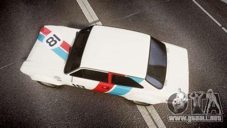 Ford Escort RS1600 PJ18 para GTA 4 visión correcta