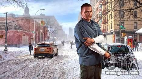 Botas de invierno para pantallas para GTA 4 séptima pantalla