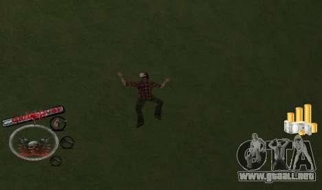 C-HUD Money para GTA San Andreas segunda pantalla