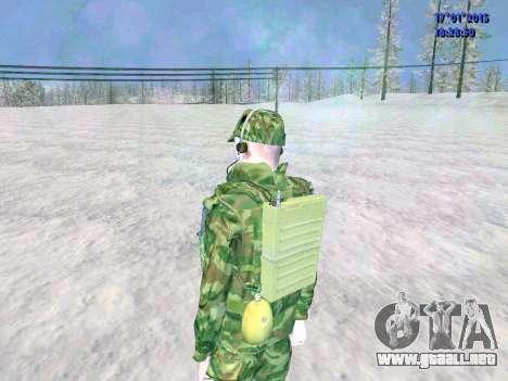 El aire de radio operador para GTA San Andreas quinta pantalla