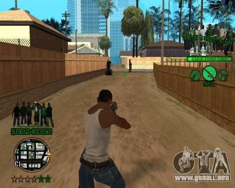 C-HUD Grove para GTA San Andreas tercera pantalla
