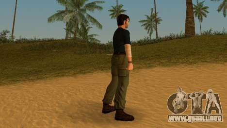 Kurtis Trent v.2 para GTA Vice City segunda pantalla