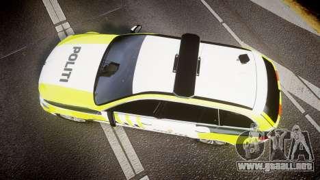 BMW 530d F11 Norwegian Police [ELS] para GTA 4 visión correcta