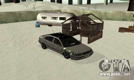Skoda Octavia Winter Mode para la visión correcta GTA San Andreas