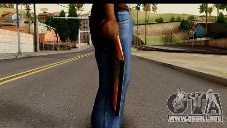Sawnoff Shotgun HD para GTA San Andreas tercera pantalla