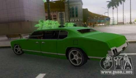 Sabre Limousine para GTA San Andreas left