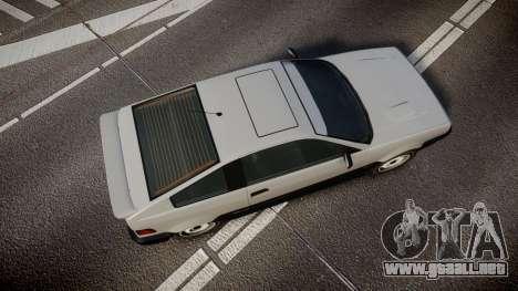 Dinka Blista Compact ST para GTA 4 visión correcta