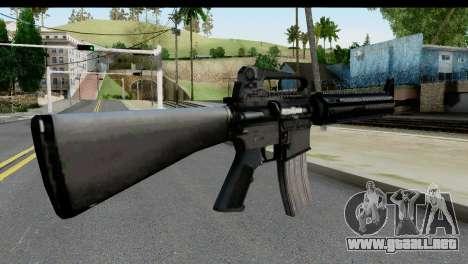 M4A1 from State of Decay para GTA San Andreas segunda pantalla