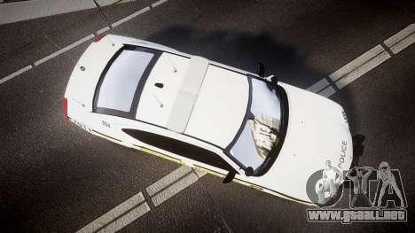 Dodge Charger 2006 Alderney Police [ELS] para GTA 4 visión correcta