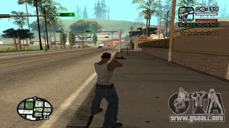 C HUD King Ghetto Life para GTA San Andreas tercera pantalla