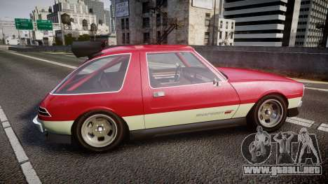 Declasse Rhapsody Camber para GTA 4 left
