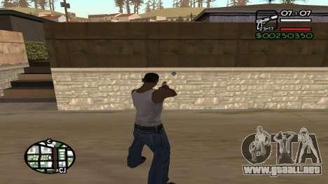 C HUD King Ghetto Life para GTA San Andreas segunda pantalla