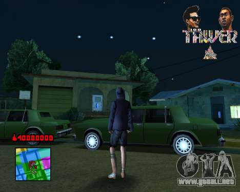 C-HUD Tawer By Flocky para GTA San Andreas
