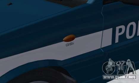 Daewoo-FSO Polonez Kombi 1.6 GSI Police 2000 para GTA San Andreas interior