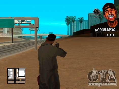 C-HUD WeJack para GTA San Andreas segunda pantalla