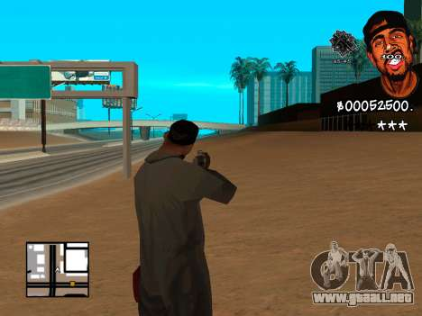 C-HUD WeJack para GTA San Andreas