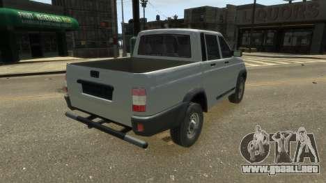 UAZ Patriot Pickup v.2.0 para GTA 4 left