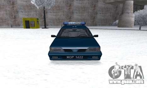 Daewoo-FSO Polonez Kombi 1.6 GSI Police 2000 para GTA San Andreas vista hacia atrás