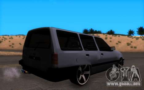 Opel Kadett GSI Caravan para GTA San Andreas left