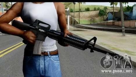 M4A1 from State of Decay para GTA San Andreas tercera pantalla