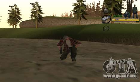 C-HUD TaweR Green para GTA San Andreas