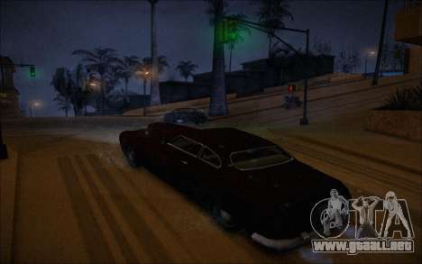 ENBSeries Wade Coronos para GTA San Andreas quinta pantalla