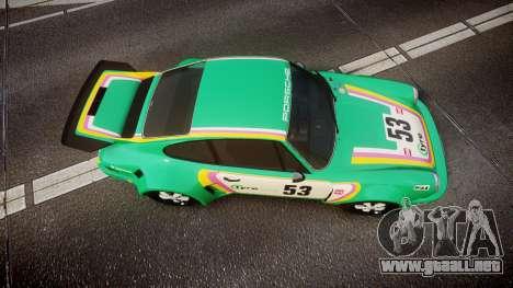 Porsche 911 Carrera RSR 3.0 1974 PJ53 para GTA 4 visión correcta