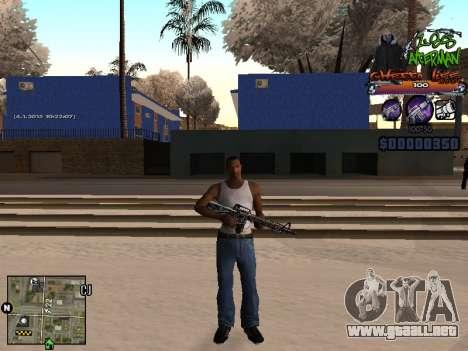 C-HUD Les Alterman para GTA San Andreas segunda pantalla
