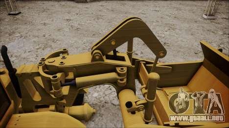 Caterpillar 631D para la visión correcta GTA San Andreas