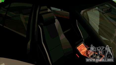 BMW 730i para la vista superior GTA San Andreas