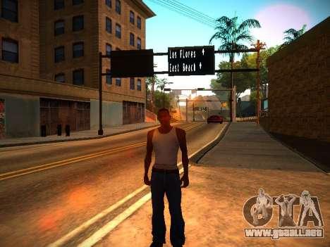 ENB v1.3 para PC débil para GTA San Andreas segunda pantalla