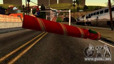 New Year Rifle para GTA San Andreas