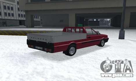 Daewoo FSO Polonez Truck Plus ST 1.9 D 2000 para GTA San Andreas left