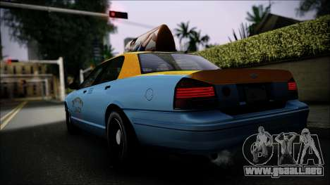 Taxi Vapid Stanier II from GTA 4 IVF para GTA San Andreas left