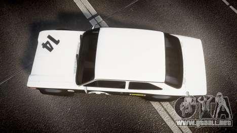 Ford Escort RS1600 PJ14 para GTA 4 visión correcta