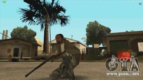 Winchester de Killing Floor para GTA San Andreas tercera pantalla