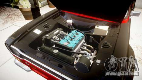 Ford Escort RS1600 PJ62 para GTA 4 vista hacia atrás