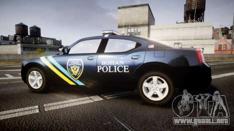 Dodge Charger 2006 Sheriff Bohan [ELS] para GTA 4 left