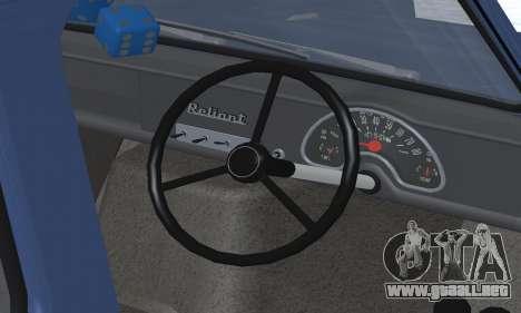 Reliant Supervan III para el motor de GTA San Andreas