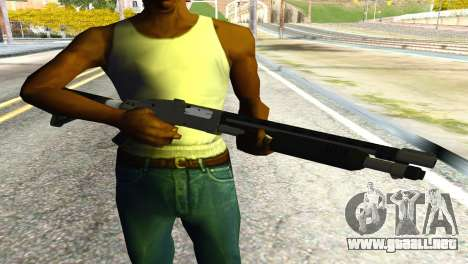 Shotgun from GTA 5 para GTA San Andreas tercera pantalla