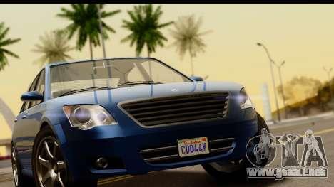 GTA 5 Karin Asterope SA Mobile para la visión correcta GTA San Andreas