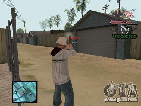 C-Hud Yakuza II para GTA San Andreas sucesivamente de pantalla