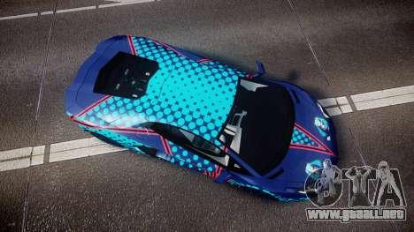 Lamborghini Aventador 2012 [EPM] Miku 3 para GTA 4 visión correcta