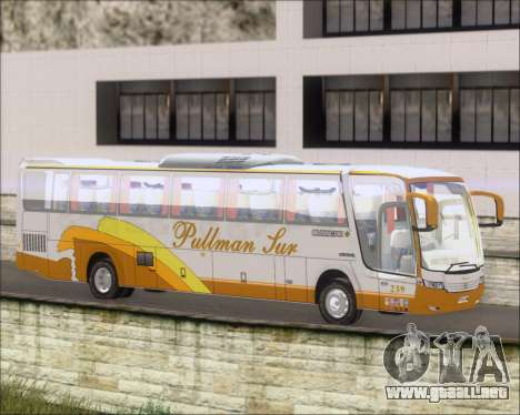 Busscar Vissta Buss LO Pullman Sur para GTA San Andreas left