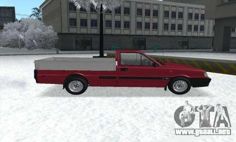 Daewoo FSO Polonez Truck Plus ST 1.9 D 2000 para GTA San Andreas vista hacia atrás