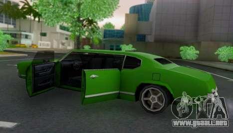 Sabre Limousine para visión interna GTA San Andreas