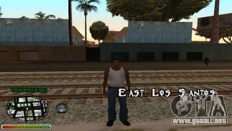 C-HUD Wonderful para GTA San Andreas segunda pantalla